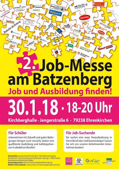 Zweite Jobmesse am Batzenberg