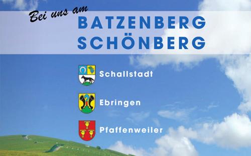 """Neuauflage Broschüre """"Batzenberg / Schönberg"""""""