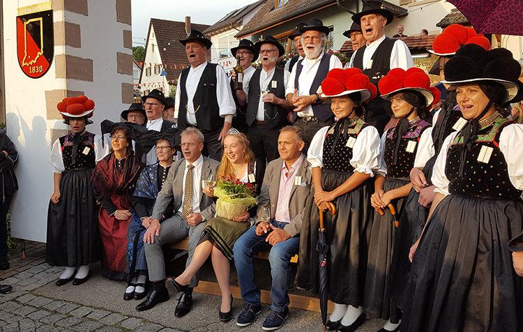 Gewerbeverein beim Schneckenfest in Pfaffenweiler