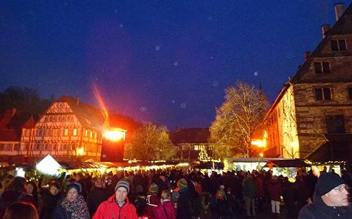 Weihnachtsmarkt Kloster Maulbronn